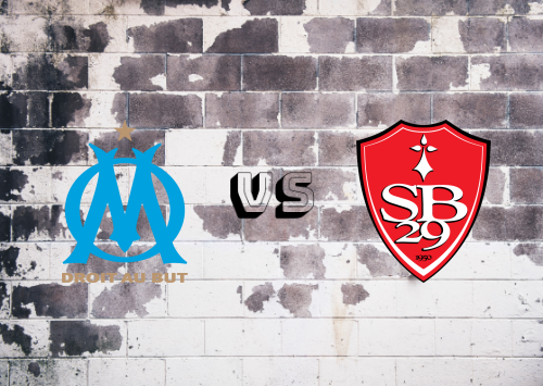 Olympique Marseille vs Brest  Resumen