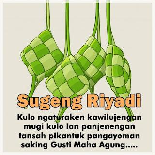 Kata Ucapan Selamat Idul Fitri Bahasa Jawa  Krama Inggil