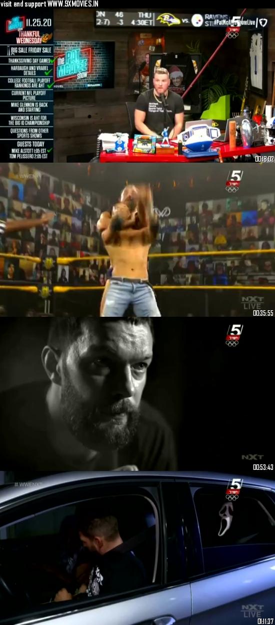 WWE NXT 25 November 2020 WEBRip 480p 350MB