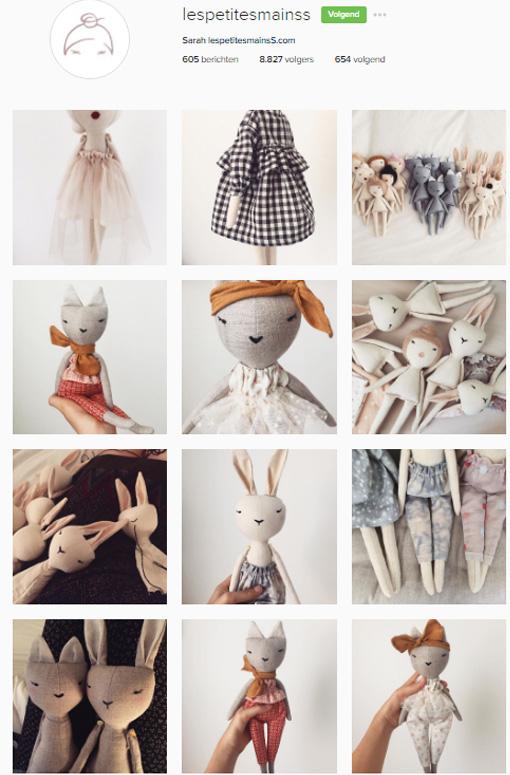 Les petites mains instagram
