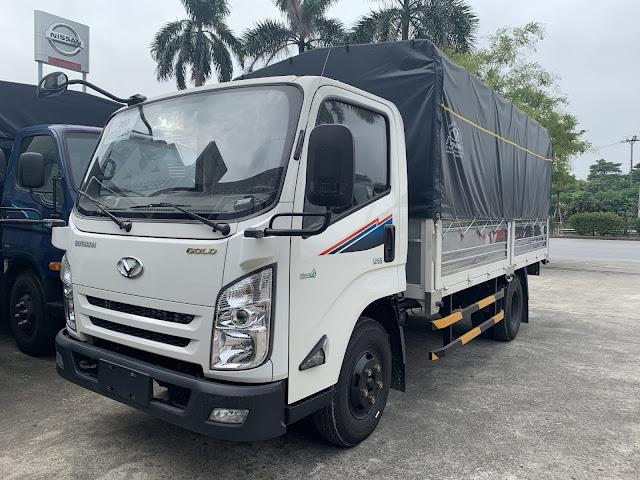 Giá xe tải Đô Thành IZ65 thùng bạt