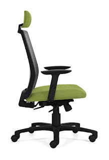 Global Total Office Spritz Weight Sensing Office Chair