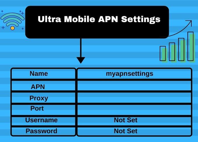 Ultra Mobile APN Settings