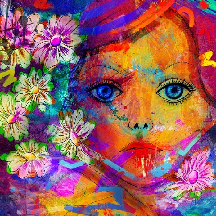 Цифровая живопись. Archan Nair