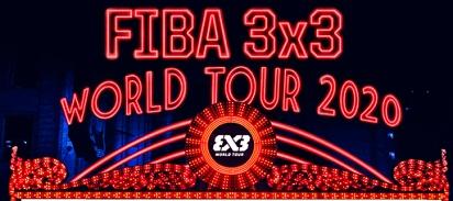 FIBA 3x3 World Tour 2020 calendar, schedule dates, city venues.