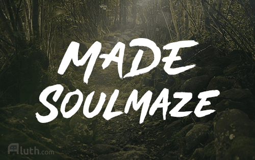 MADE Soulmaze english font