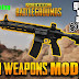 PUBG Mobile All Guns Pack mod For GTA San Andreas PC