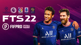 FTS 22 Download Latest Version (Messi In PSG) Apk Obb Data । First Touch Soccer 2022