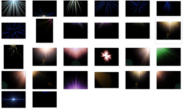 Light Rays Overlay
