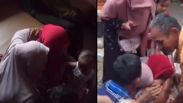 Momen Pertemuan Ibu dengan Putrinya Setelah Terpisah 26 Tahun, Sudah Bawa 4 Cucu