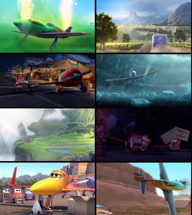 Planes 2013 Dual Audio Hindi BRRip 480p