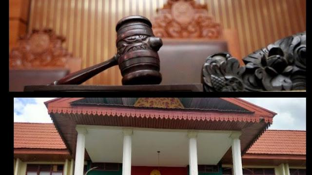 Luar Biasa..! Palu Hakim PN Rengat Bebaskan Gembong Narkoba