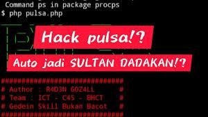 Cara Hack Pulsa
