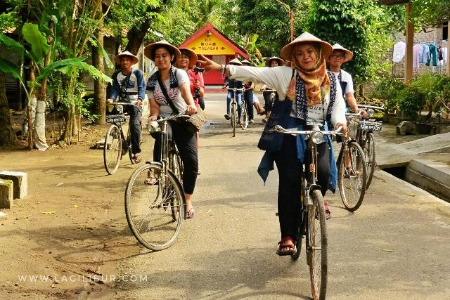 Bersepeda Keliling Desa Wisata Kebonagung Bantul