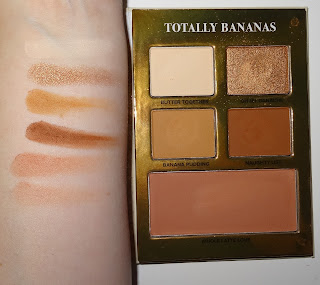 Too Faced Gingerbread Lane Totally Bananas Palette