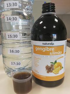 Gengibre & Limão Xarope Naturalia
