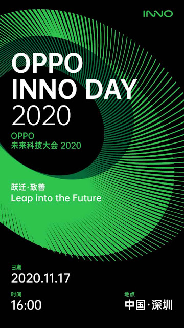 OPPO INNO DAY 2020 to take place on 17 November