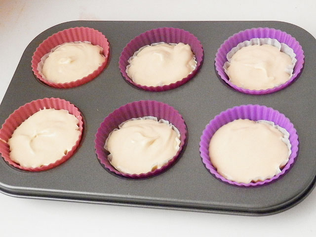 Vanilla Cupcakes ready for the oven