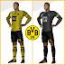 Kit Borussia Dortmund 2022 And Logo Dream League Soccer