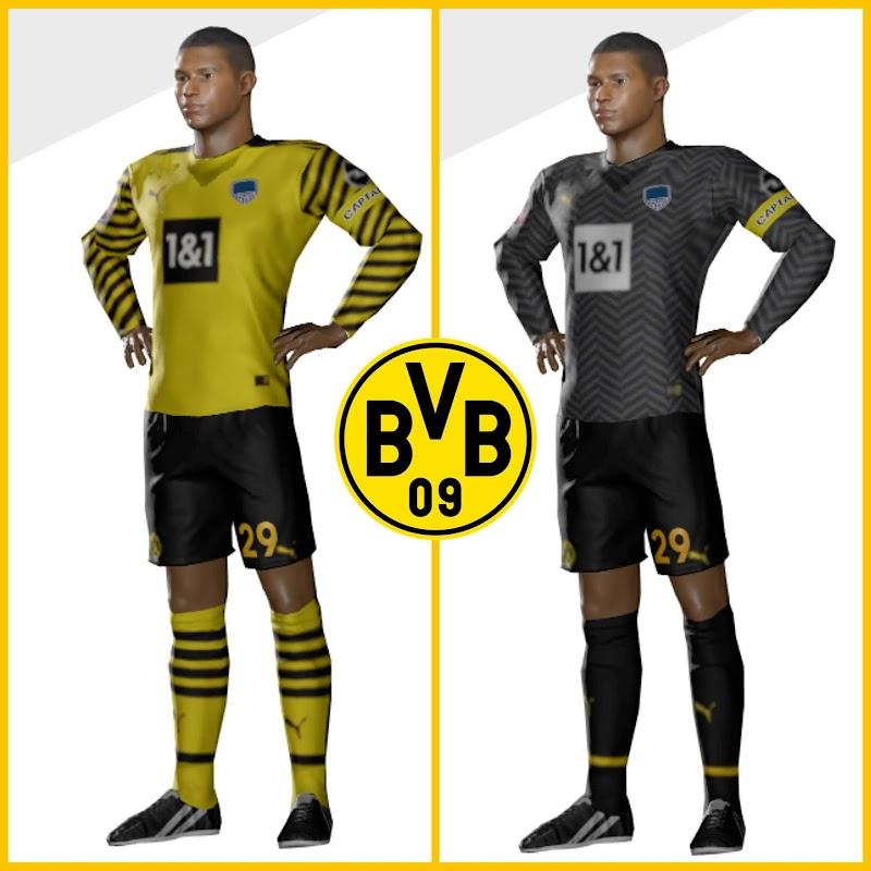 Kit Borussia Dortmund 2022 & Logo Dream League Soccer