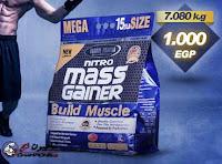بروتين زياده الوزن ميجا جينر - Global Pharma Nitro Mass Gainer