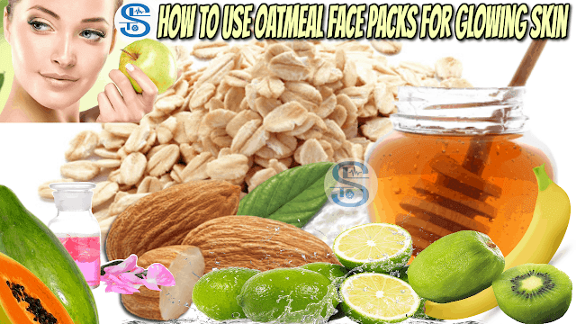 Facepack for Glowing Skin - How to make Homemade Oatmeal Face pack.