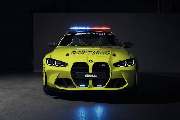 BMW apresenta frota de carros e motos de segurança da MotoGP 2021