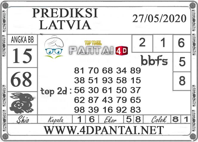 PREDIKSI TOGEL LATVIA PANTAI4D 27 MEI 2020
