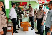 HUT TNI Ke-76, Polsek Kragilan Beri Kejutan di Koramil Kragilan
