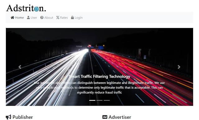Adstriton.com Giải pháp thay thế Google Adsense