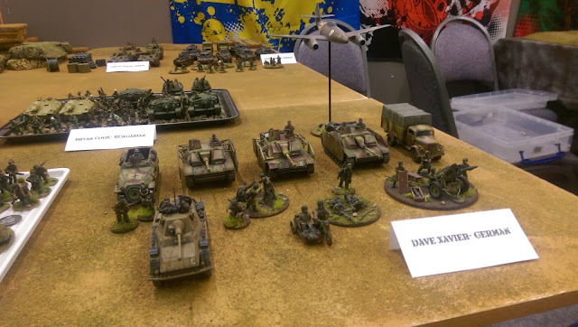 Bolt Action Armoured Armored Platoon 1500 points