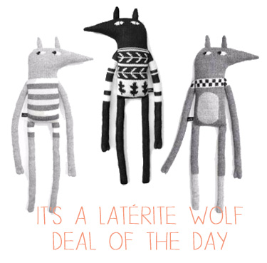 Laterite wolf