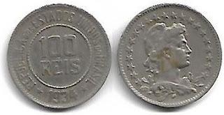 100 réis, 1934
