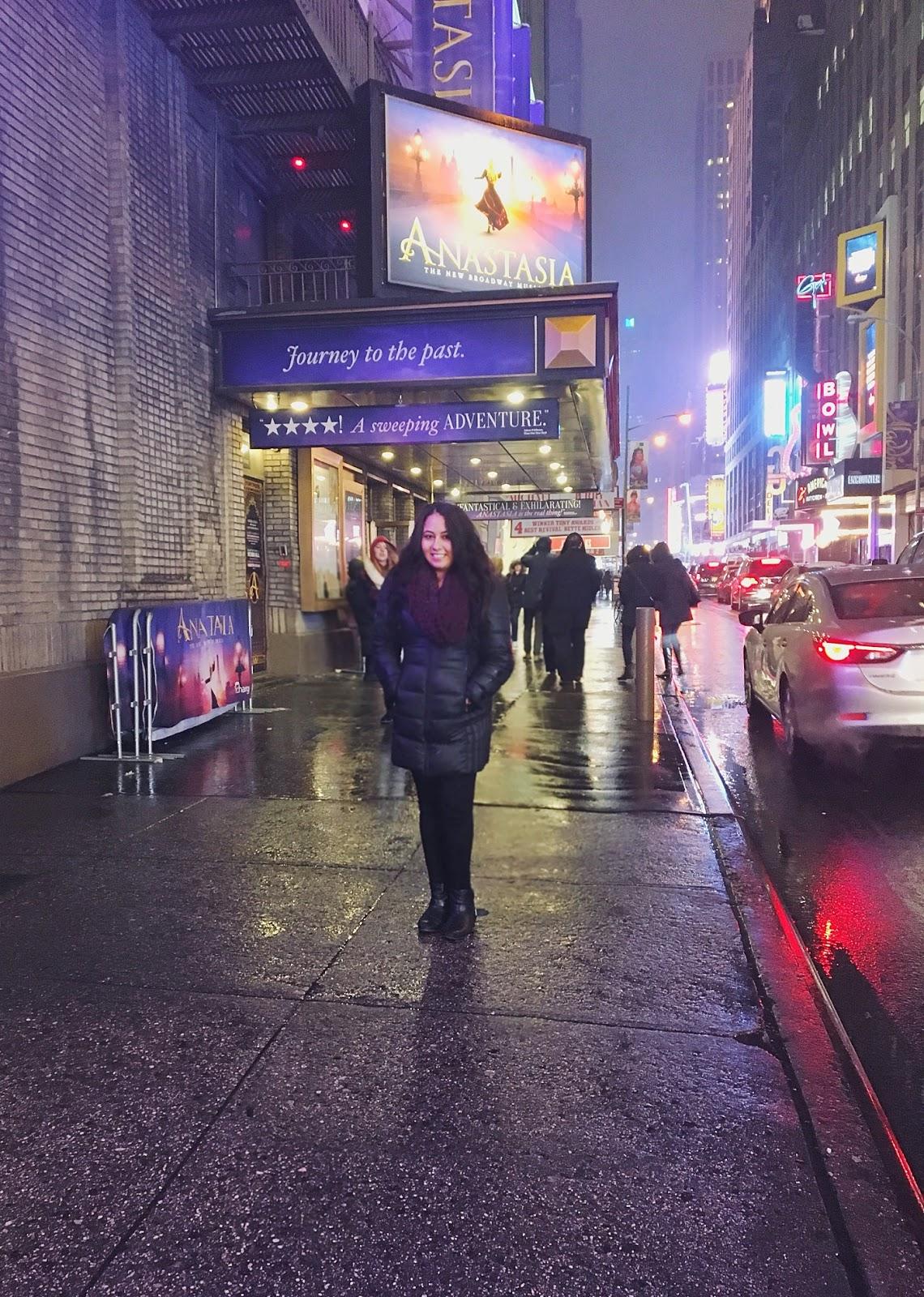 Anastasia on Broadway New York City
