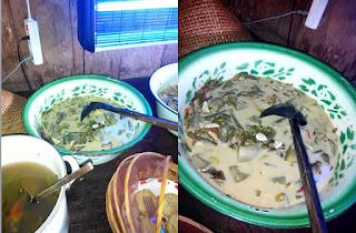 Menu Sayur Lodeh Tempe Lombok Ijo : Kopi Klotok Pakem