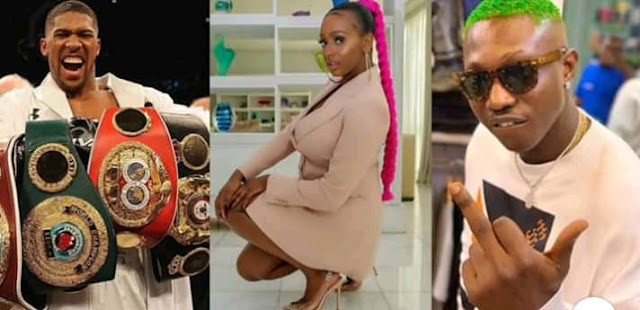 Ibile singer Zlatan has come out to cry for help as he pleads with Heavyweight boxing champion Anthony Joshua to leave his girlfriend DJ Cuppy alone for him.