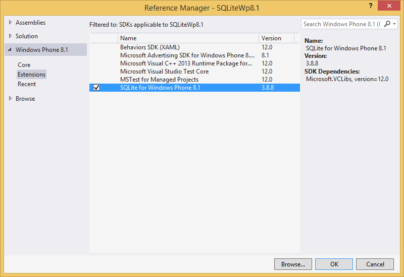WindowsPhone 8 1 SQLite: How to Store Data in DataBase for