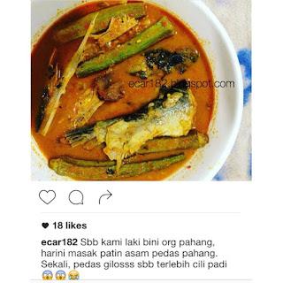 Resepi Bulan Ramadhan: Asam Pedas Ikan Patin Pahang