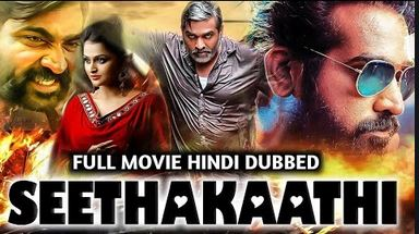 Seethakaathi (2020) Hindi Dubbed Full Movie Watch Online HD Print Free Download