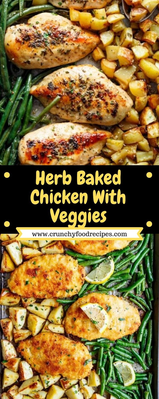 Herb Baked Chicken With Veggies