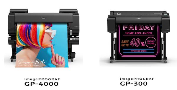Canon anuncia nova Série imagePROGRAF GP