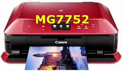 Canon PIXMA MG7752 Driver Download
