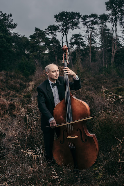 Garry Lester - double bassist, Exeter Symphony Orchestra - Photo copyright Matt Austin (All rights reserved)