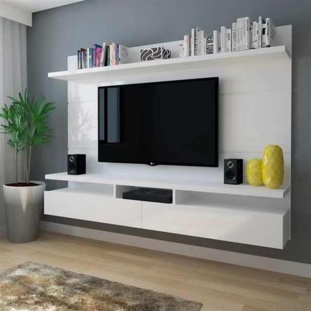 Lcd Wall Unit Design For Living Room - Decor Units
