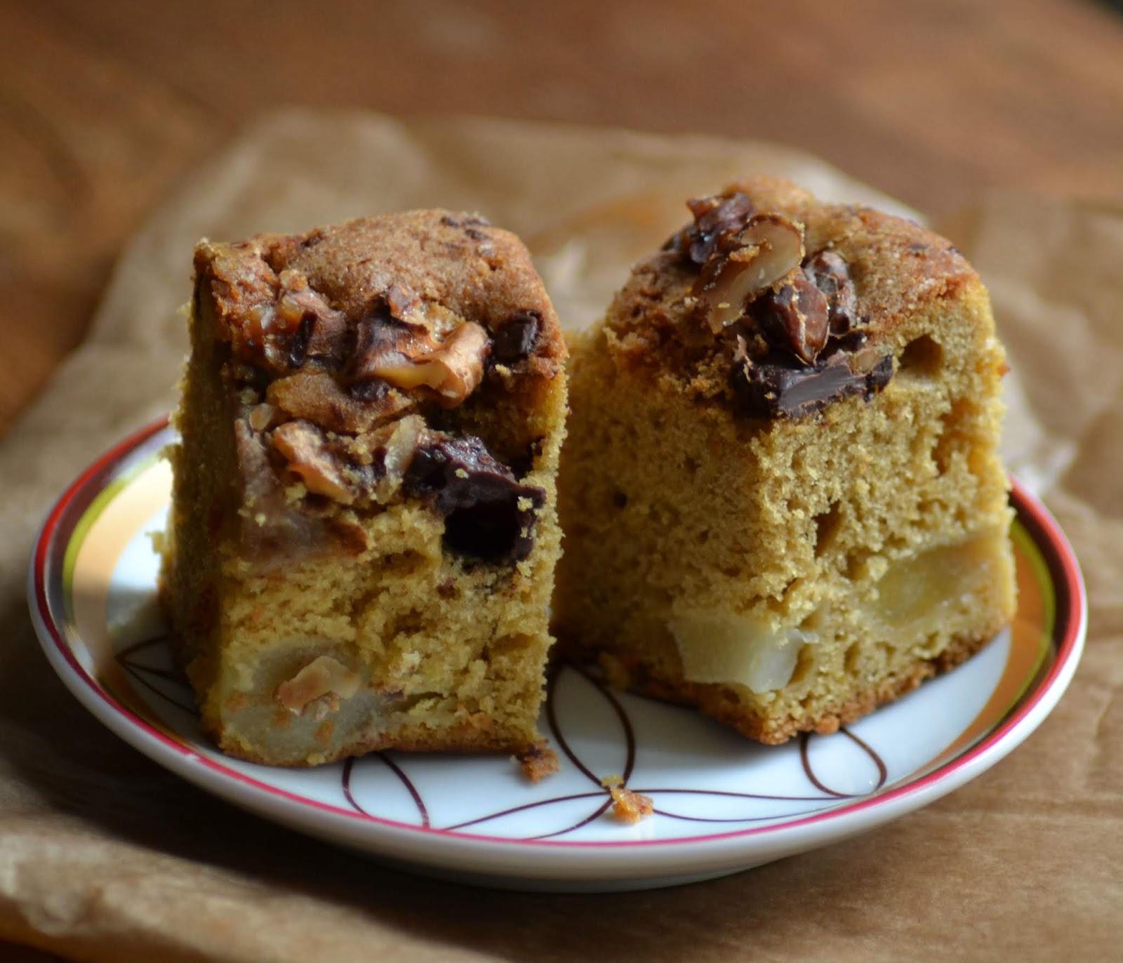 Bekijk het recept voor peer-chococake