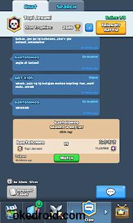 Fitur Clan Clash Royale