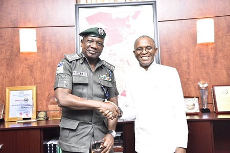 Seriously? IG of Police Shuns Senate Again; spotted with El-Rufai