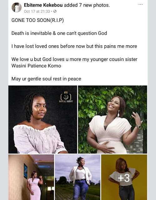 Photos: Family, friends mourn 400 Level Niger Delta University student who died after 14-seater bus plunged into river