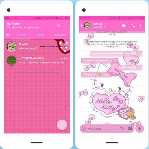 Kumpulan Tema WhatsApp Keren Untuk Android