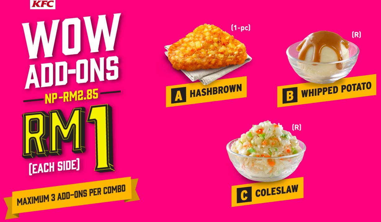 harga twister lite combo kfc wow breakfast senarai harga makanan  malaysia Resepi Ayam Hancur Enak dan Mudah